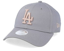 Los Angeles Dodgers Women's League Essential 9Forty Grey/Pink Adjustable - New Era