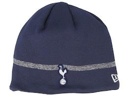Tottenham Hotspur Fall 19 Contrast Stripe Navy Beanie - New Era