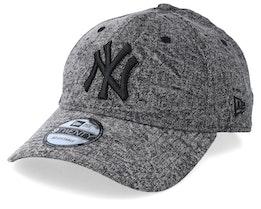 New York Yankees Dipped Denim Black/Black Adjustable - New Era