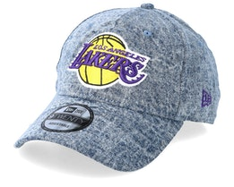 LA Lakers Dipped Denim Blue Adjustable - New Era