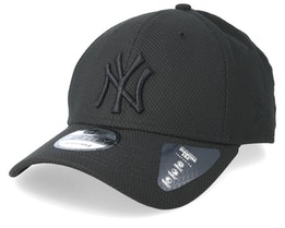 New York Yankees Diamond 9Forty Black/Black Adjustable - New Era