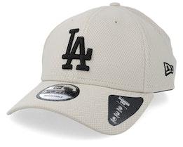 Los Angeles Dodgers Diamond 9Forty Stone/Black Adjustable - New Era