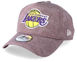 LA Lakers Engineered Plus Maroon Adjustable - New Era