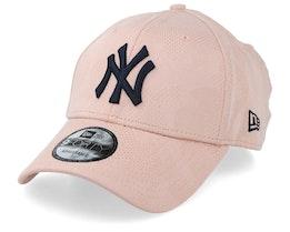 New York Yankees Engineered Plus Pink/Navy Adjustable - New Era
