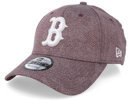 Boston Red Sox Engineered Plus Dark Maroon/White Adjustable - New Era