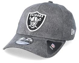 Oakland Raiders Engineered Plus Dark Grey Flexfit - New Era