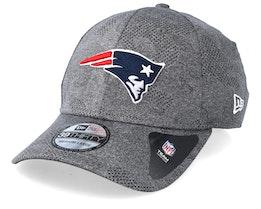 New England Patriots Engineered Plus Dark Grey Flexfit - New Era