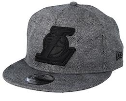 LA Lakers 9 Gigty Engineered Plus Dark Grey/Black Snapback - New Era