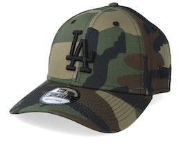 Los Angeles Dodgers Camo Essential 9Forty Camo/Black Adjustable - New Era