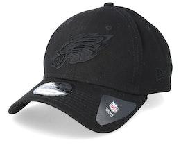 Philadelphia Eagles 9Forty Black/Black Adjustable - New Era