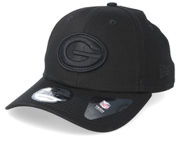Green Bay Packers 9Forty Black/Black Adjustable - New Era