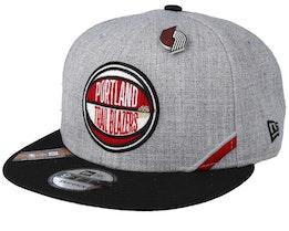 Portland Trail Blazers 19 NBA 9Fifty Draft Heather Grey/Black Snapback  - New Era