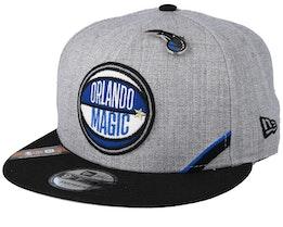 Orlando Magic 19 NBA 9Fifty Draft Heather Grey/Black Snapback  - New Era