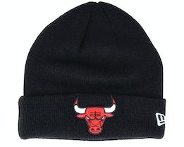 Kids Chicago Bulls Knit Black Cuff - New Era
