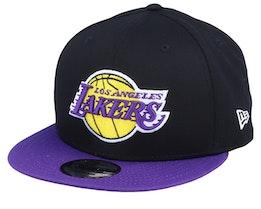 LA Lakers 9Fifty Black/Purple Snapback - New Era