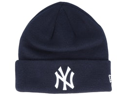 New York Yankees Essential Knit Navy/White Cuff - New Era