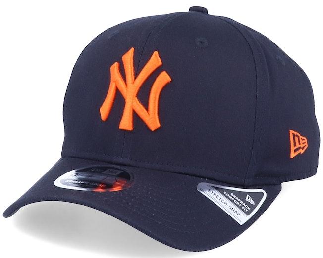 New York Yankees Tonal Stretch 9Fifty Navy/Orange Adjustable - New Era