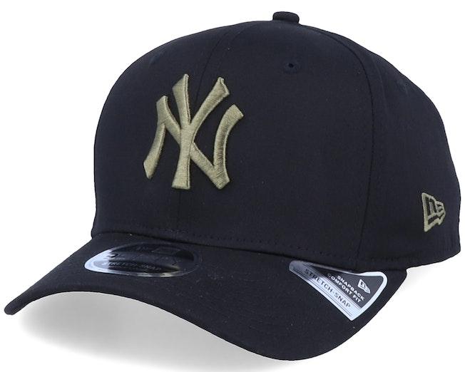 New York Yankees Tonal Stretch 9Fifty Black/Olive Adjustable - New Era
