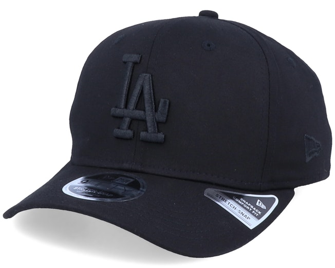 Los Angeles Dodgers Tonal Stretch 9Fifty Black/Black Adjustable - New Era