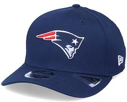 New England Patriots Team Stretch 9Fifty Navy Adjustable - New Era