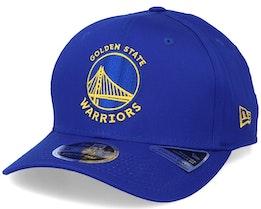 Golden State Warriors Team Stretch 9Fifty Blue/Yellow Adjustable - New Era