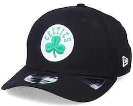 Boston Celtics Team Stretch 9Fifty Black Adjustable - New Era