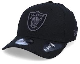 Oakland Raiders Team 39Thirty Black/Black Flexfit - New Era