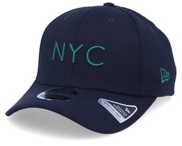 NYC Stretch Snap Navy/Green Adjustable - New Era