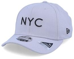 NYC Stretch Snap Grey/Black Adjustable - New Era