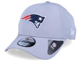 New England Patriots Winter Script Grey Adjustable - New Era