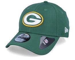 Green Bay Packers Winter Script Green Adjustable - New Era