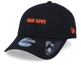 Uni Logo Black/Orange 9Forty Adjustable - New Era