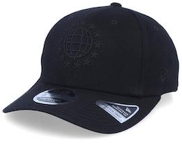 Uni Stretch-Snap 9Fifty Black/Black Adjustable - New Era