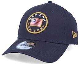 Flagged 9Forty Navy Adjustable - New Era
