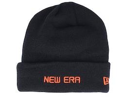 Essential Logo Black/Orange Cuff - New Era