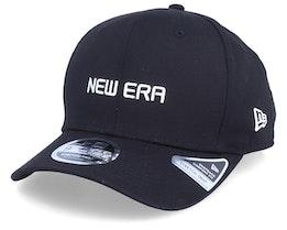 Essential Logo Stretch-Snap 9Fifty Black/White Adjustable - New Era