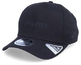 Essential Logo Stretch-Snap 9Fifty Black/Black Adjustable - New Era