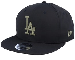 Los Angeles Dodgers Utility 9Fifty Black/Green Snapback - New Era