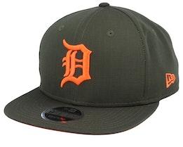 Detroit Tigers Utility 9Fifty Dark Green/Orange Snapback - New Era