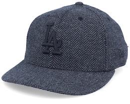 Los Angeles Dodgers Tweed 9Forty Black/Black Strapback - New Era