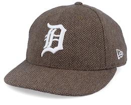 Detroit Tigers Tweed 9Forty Camel/White Strapback - New Era