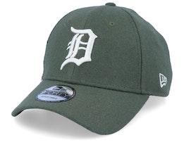 Detroit Tigers Melton Green/White Adjustable - New Era
