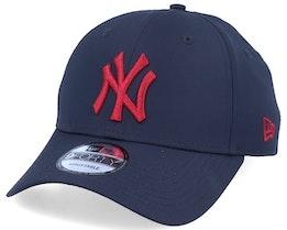 New York Yankees Mini Reverse Team 9Forty Navy/Red Adjustable - New Era