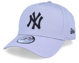 New York Yankees League Essential Grey/Black Adjustable - New Era
