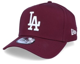 Los Angeles Dodgers League Essential Maroon/White Adjustable - New Era