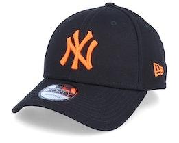 New York Yankees League Essential 9Forty Black/Orange Adjustable - New Era