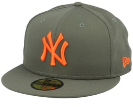 New York Yankees League Essential 9Fifty Green/Orange Fitted - New Era