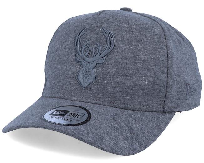 Milwaukee Bucks Essential A-Frame Grey Adjustable - New Era