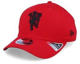 Manchester United Stretch Red/Black Adjustable - New Era