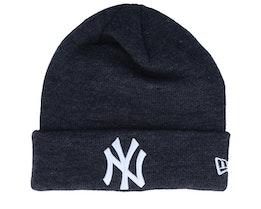 New York Yankees Dark Heather/White Cuff - New Era